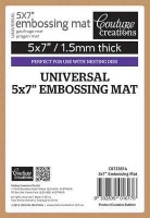 couture creations universal embossing mat 5x7 craft supply