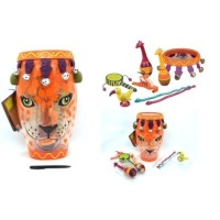 b toys jungle drum with instruments musical toy
