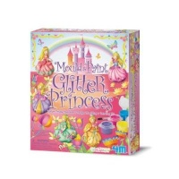 4m mould and paint glitter princess arts craft