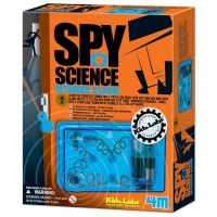 4m kidz labs spy science intruder alarm learning toy