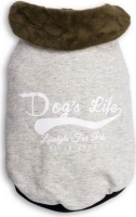 dogs life i love cape town tee grey extra small clothe
