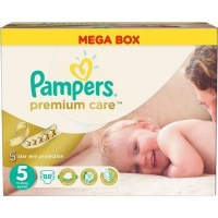 pampers premium care size 5 junior 11 16kg 88 nappies bag