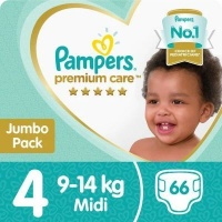 pampers premium care size 4 maxi jumbo pack 66s nappy changing