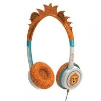 ifrogz little rockers on ear headphones orange and white computer