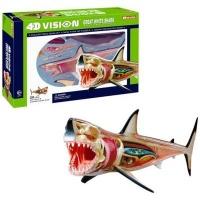 4d master animal anatomy shark learning toy