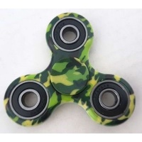 fidget spinner green camo electronic toy