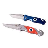 serrated orange rescue knife health product