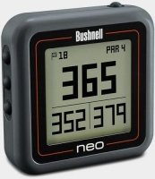 bushnell neo ghost pocket sized golf charcoal gps