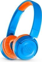 jbl jr300bt kids wireless on ear headphones blue and headphone