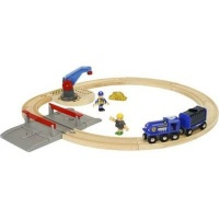 brio police transport set electronic toy