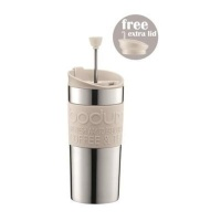 bodum stainless steel travel coffee press 350ml white water coolers filter