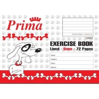 prima scholastic lined exercise book a5 6mm 72 pages other