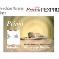 prima telephone message pad other