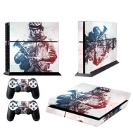 skin nit decal for ps4 battlefield white ps4 accessory