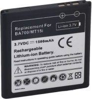 roky replacement battery compatible with sony ba700