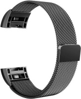 Linxure Milanese Strap for the Fitbit Charge 2 Black Large