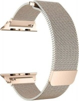 Linxure 38mm Milanese Apple Watch Replacement Strap Rose Gold