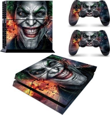 Photo of SKIN-NIT Decal Skin For PS4: Joker 2019