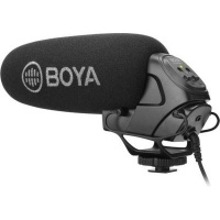 boya by bm3031 on camera pro shotgun microphone media player accessory