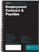 rbe employment contract payslip book of 2 other