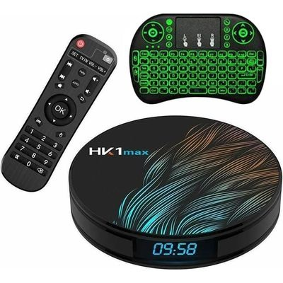 Ntech HK1 MAX Android 90 HD 4K TV Box with i8 Remote 16GB