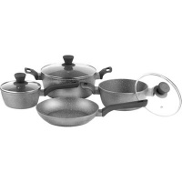 Legend Granite Chef Stainless Steel Cookware Set