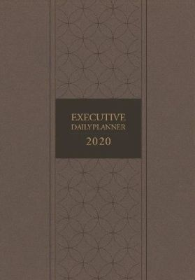 Photo of Executive Daily Planner 2020