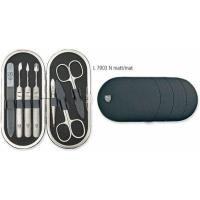 kellermann 3 swords leather manicure set l 7903 f n matt shaving