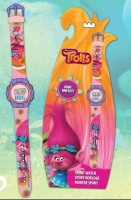 trolls digital watch assorted activities amusement