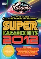 avid limited super karaoke hits 2012 dvd karaoke