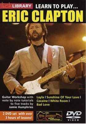 Photo of Lick Library: Learn to Play Eric Clapton