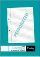 croxley jd375 easi file a4 note book 100 pages 10 other