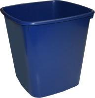 bantex b9820 waste paper bin 20l blue school supply