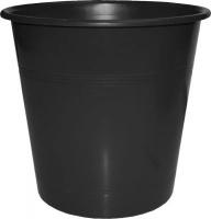 bantex b9825 waste paper bin 10l black school supply