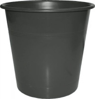 bantex b9825 waste paper bin 10l anthracite grey school supply