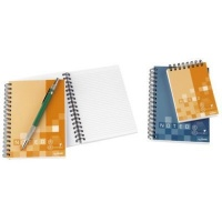 bantex b1831 noted twin wire soft notebooks a7 assorted other
