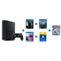 sony playstation 4 slim console bundle with god of war the ps4 accessory