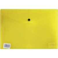 croxley a4 envelope with button 12 pack yellow school supply