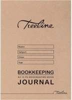 treeline journal bookkeeping soft cover book a4 72 pages other