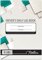 treeline upright hardcover duplicate drivers log book a5 other