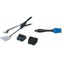 Tonglite2 Kit with Stainless Steel Scouring Basting Brushes