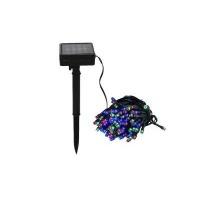 link 100 x solar fairy string lights colourful camera len