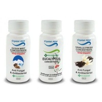 crystal aire purifier concentrate 3 pack vanilla ocean mist health product