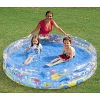 bestway deep dive 3 ring pool multicolour 183 x 33cm pools hot tubs sauna
