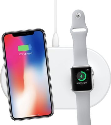 Photo of Baseus 2A Smart 2-in-1 Apple Watch & Phone Wireless Charger 1m Type-C
