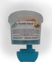 kinetic sand 800g blue with mould sport outdoor toy