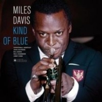 kind of blue vinyl record gatefold cover music cd
