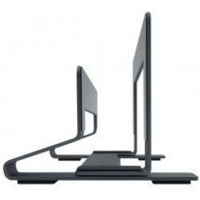 "Photo of Apple Macally Aluminium Vertical Stand for Macbook Air Pro and 13""-17"" Notebooks"