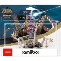 amiibo breath of the wild zelda guardian gaming merchandise