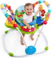 baby einstein neighborhood friends activity jumper pram stroller